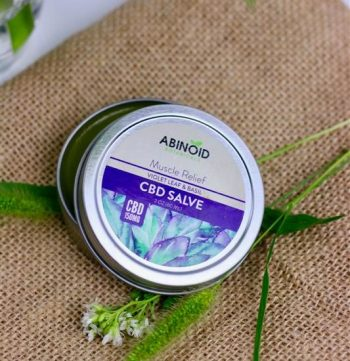 CBD Hemp Extract Muscle Salve