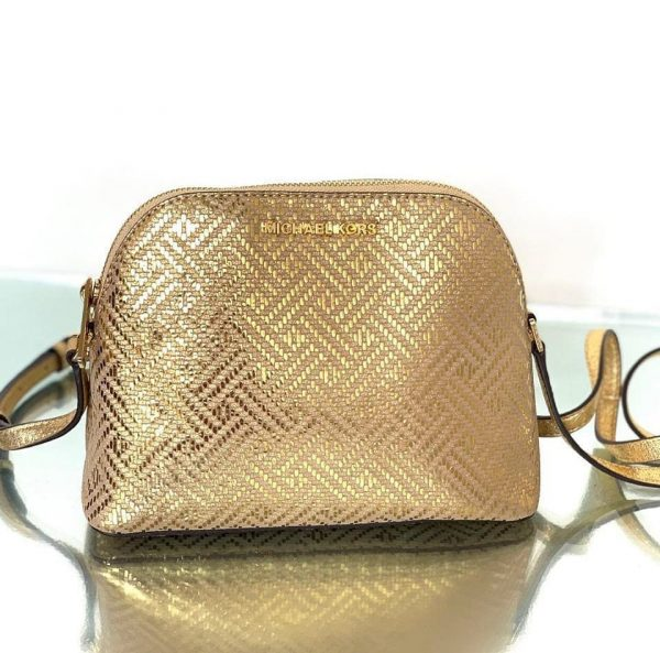 Michael-Kors-ADELE-Dome-Leather-Crossbody-Bag-gold