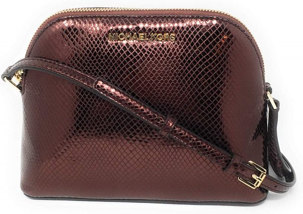 Michael-Kors-ADELE-Dome-Pebbled-Leather-Crossbody-Bag-Red-