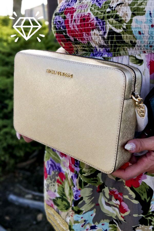 michael-kors-pale-saffiano-jet-set-gold-leather-cross-body-bag-chain-shopbrightsf