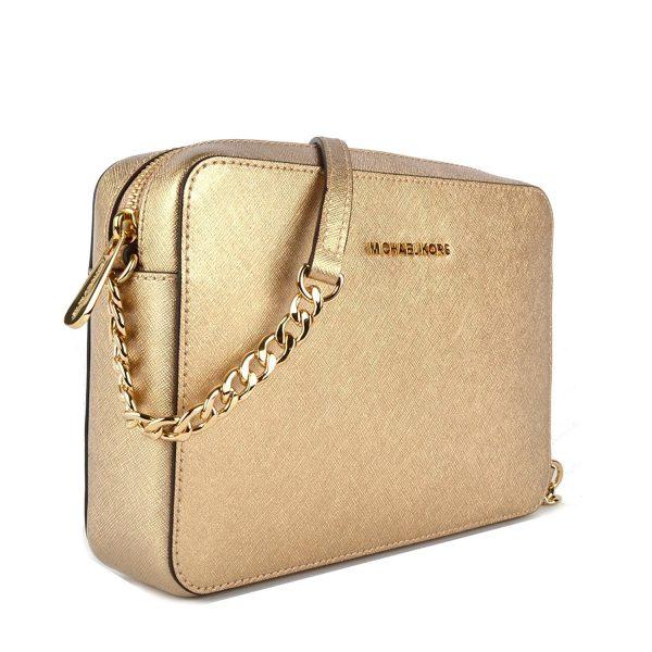 michael-kors-pale-saffiano-jet-set-large-east-west-gold-leather-cross-body-bag-side