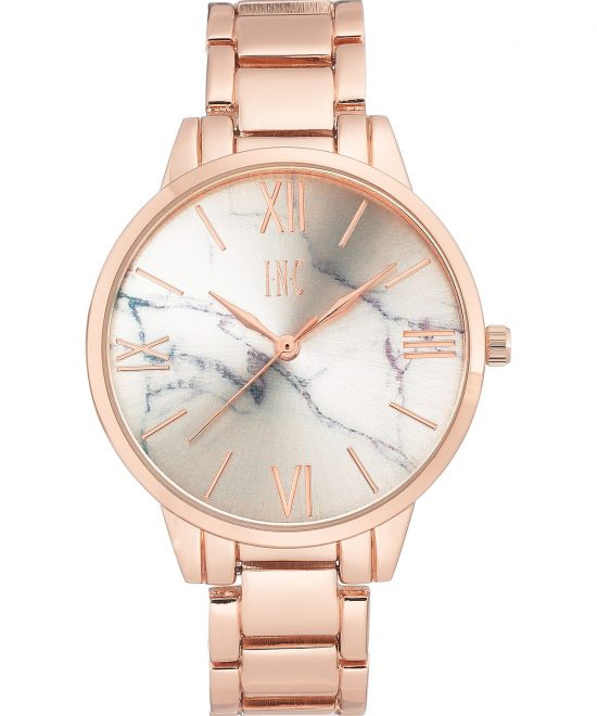 Luxury Rose Gold Marble Wrist Watch