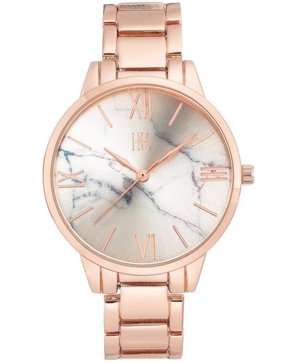 Luxury Rose Gold Marble Wrist Watch