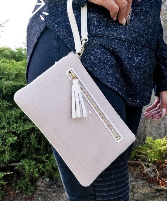 Kate-Spade-Pink-Clutch-Bag
