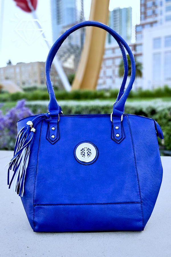 Luxury Vegan Leather Tote Handbag Shoulder bag