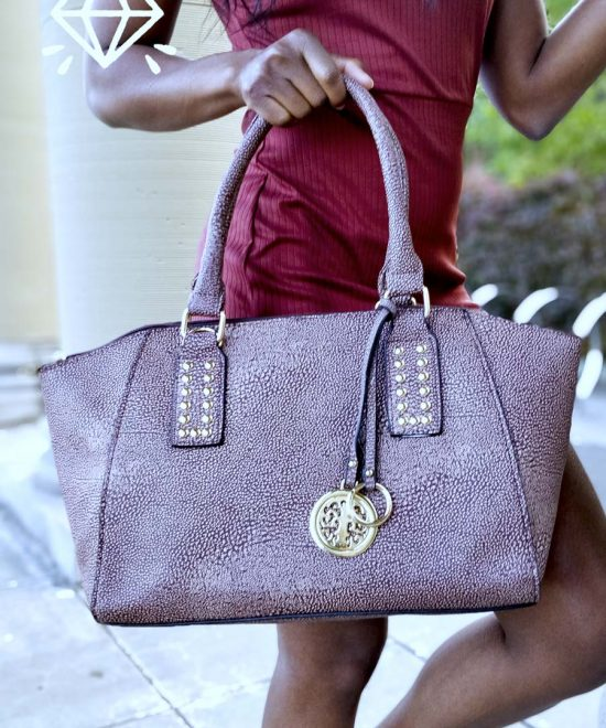 luxury vegan leather handbags dorado