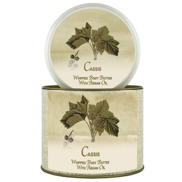 Natural Argan Oil Body Butter Cassis
