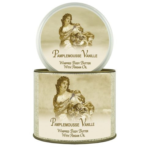 Natural Argan Oil Body Butter Pamplemousse Vanille