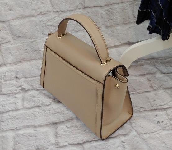 Michael-Kors-Whitney-Satchel Handbag Truffle